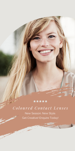 Coloured Contact Lenses For A New Look